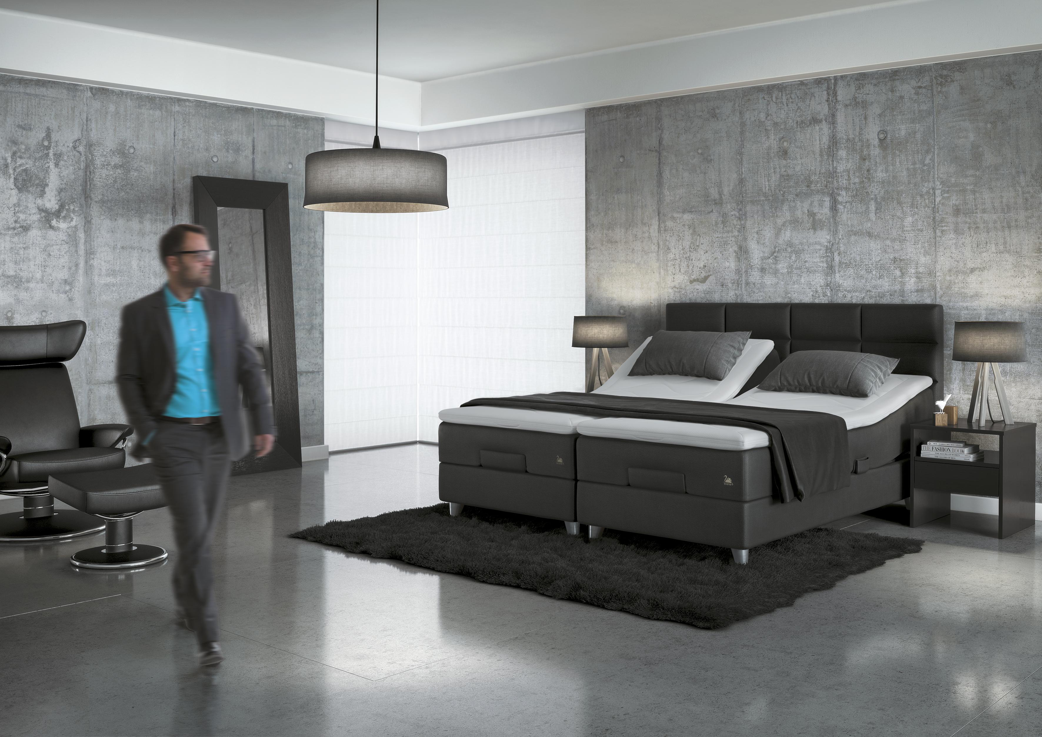 svane motion 5000 boxspring verstellbarer unterbau betten heise. Black Bedroom Furniture Sets. Home Design Ideas